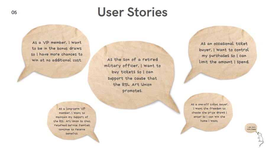 Sam C - User Stories