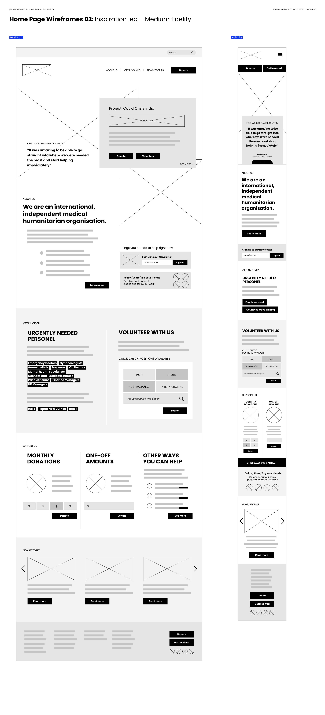 Bec_04 Home Page Wireframes 02_ Inspiration led – Medium fidelity
